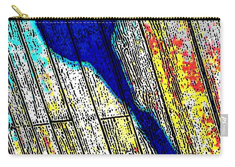 Abstract Carry-all Pouch featuring the photograph Shadow by Daniel Thompson