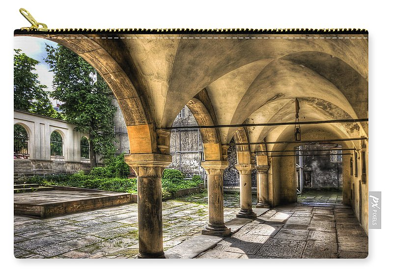 Armenian Carry-all Pouch featuring the photograph Shadow Of The Day by Evelina Kremsdorf