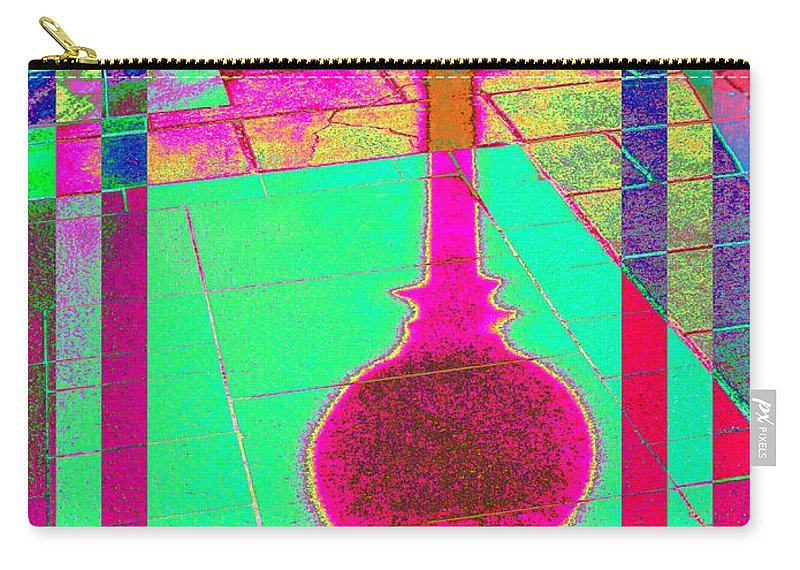 Abstract Carry-all Pouch featuring the digital art Shadow Play 2 by Tim Allen