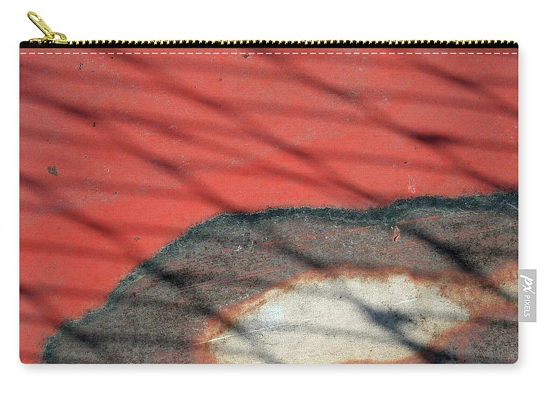 Abstract Carry-all Pouch featuring the photograph Shadows And Rust by Ric Bascobert
