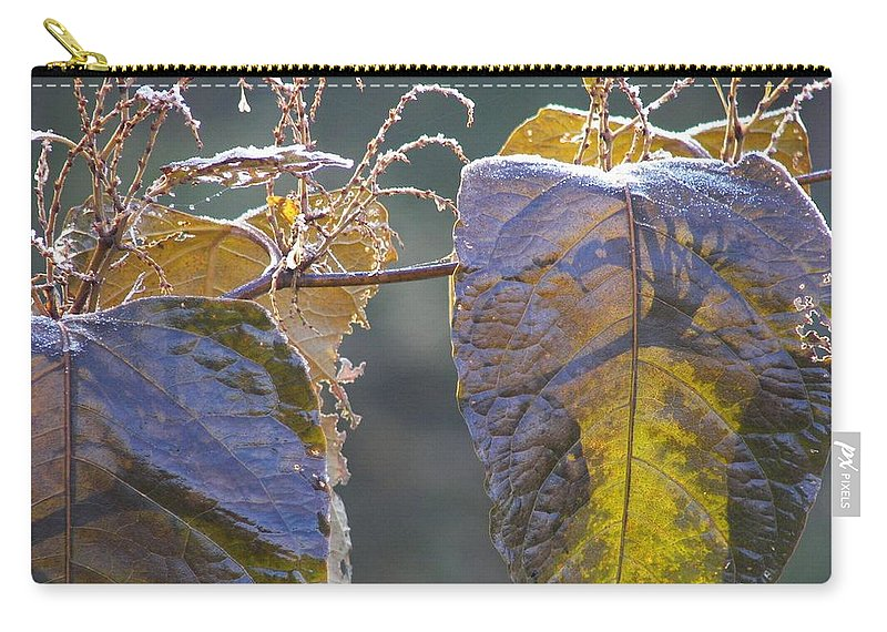 Winter Carry-all Pouch featuring the photograph Shadows by JAMART Photography