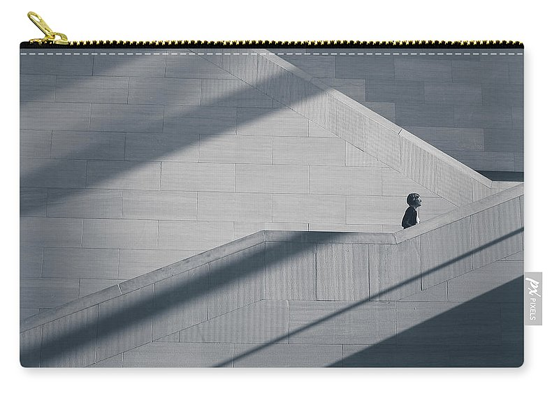 Shadows Carry-all Pouch featuring the photograph Shadows by Steve Williams
