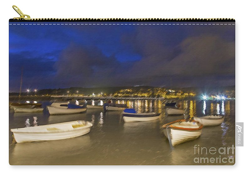 Fishing Carry-all Pouch featuring the photograph Shaldon by Sebastien Coell