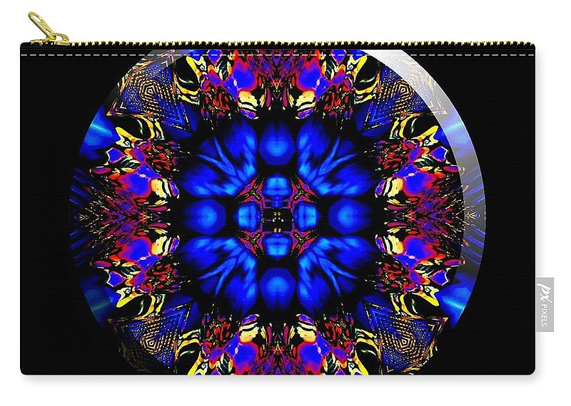 Coin Carry-all Pouch featuring the digital art Shanna by Robert Orinski