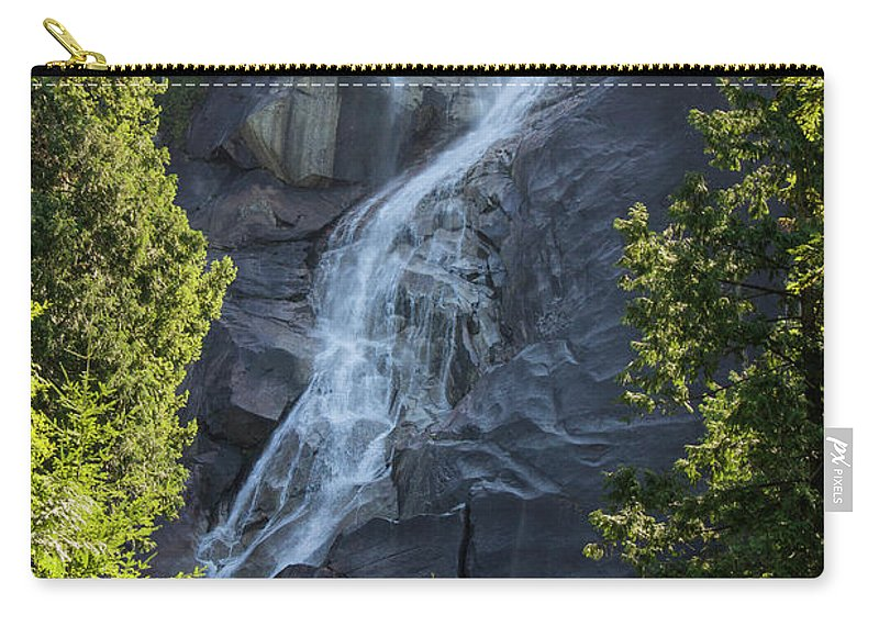 Water Falls Carry-all Pouch featuring the photograph Shannon Falls_mg_--5504 by Roger Patterson