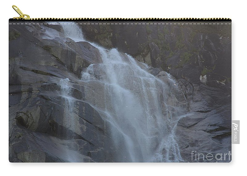 Water Falls Carry-all Pouch featuring the photograph Shannon Falls_mg_-tif- by Roger Patterson