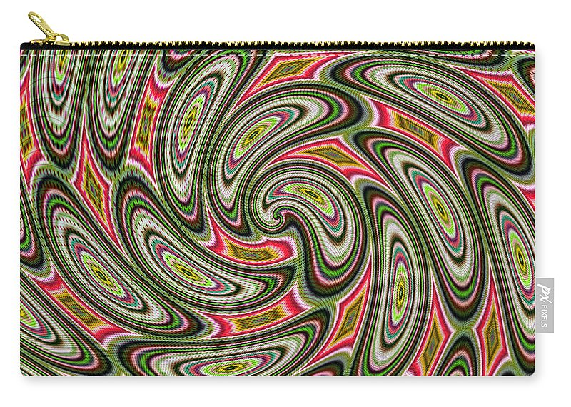 Art Carry-all Pouch featuring the digital art Shape Shifter by Candice Danielle Hughes