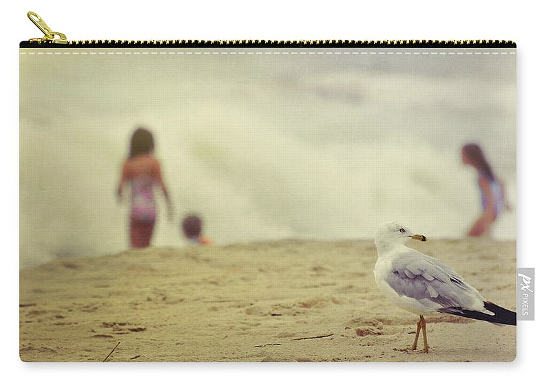 Beach Carry-all Pouch featuring the photograph Share The Beach by JAMART Photography