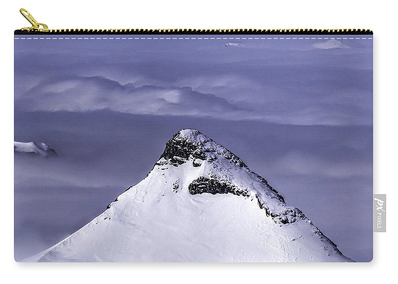 Switzerland Carry-all Pouch featuring the photograph Shark Fin Peak by Stephen Settles