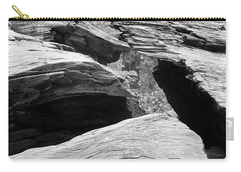 National Park Carry-all Pouch featuring the photograph Shatter by Allen Justh