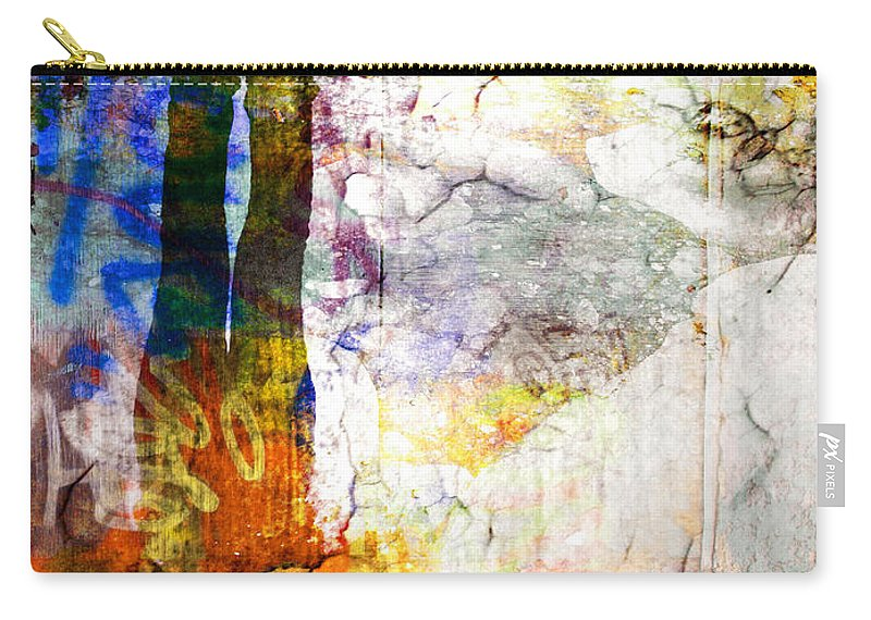 Shoes Carry-all Pouch featuring the photograph She Lives In A Box Of Paint by Tara Turner