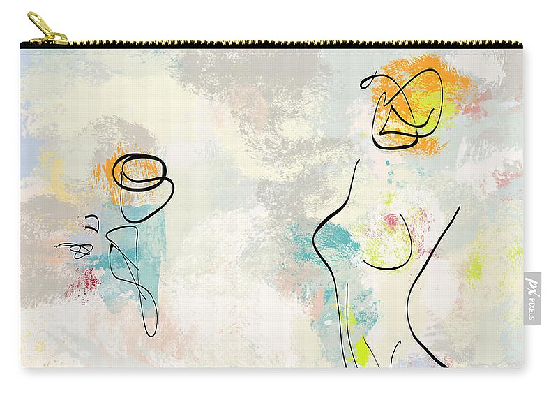 Abstract Carry-all Pouch featuring the photograph She Was Magic by MarthaLilia
