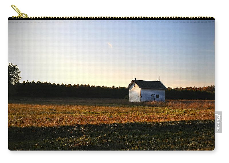 Fall Carry-all Pouch featuring the photograph Shed by Tim Nyberg