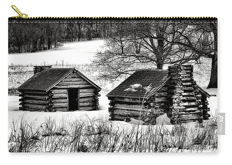 Valley Carry-all Pouch featuring the photograph Shelter The Soldiery by Olivier Le Queinec