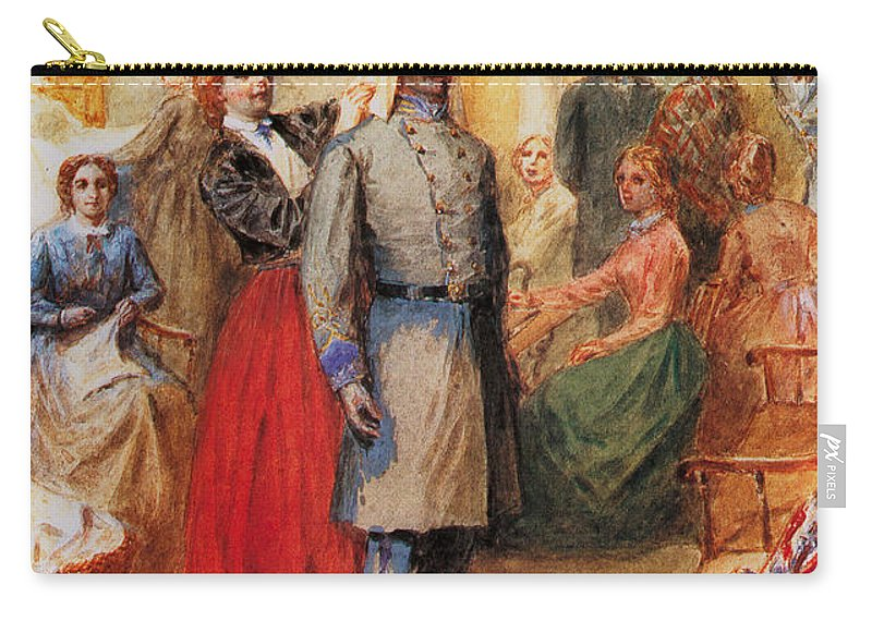 1861 Carry-all Pouch featuring the photograph Sheppard: Equipment, 61 by Granger
