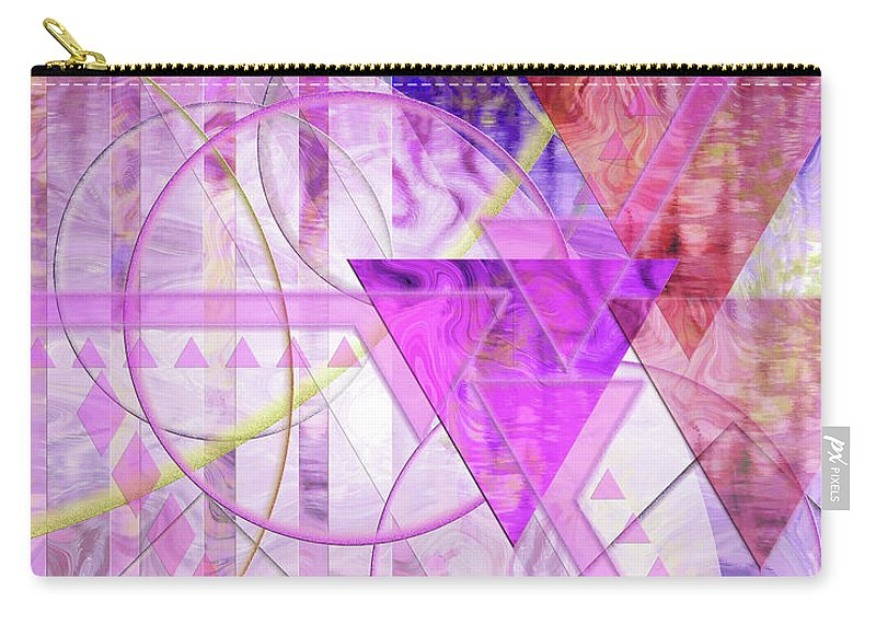 Shibumi Carry-all Pouch featuring the digital art Shibumi Spirit by John Beck