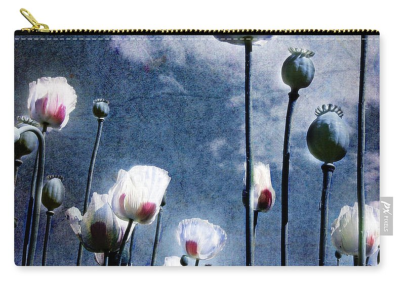 Flowers Carry-all Pouch featuring the photograph Shine Through by Jacky Gerritsen