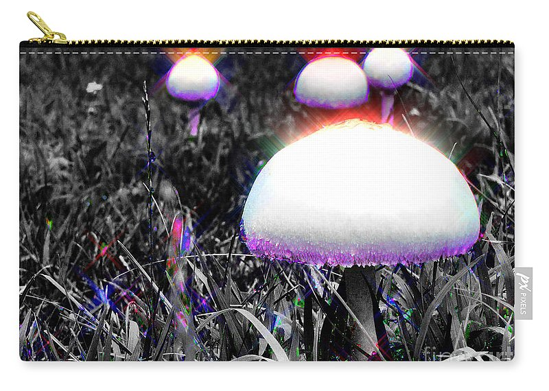 Abstract Carry-all Pouch featuring the photograph Shiny Happy People Trip by September Stone