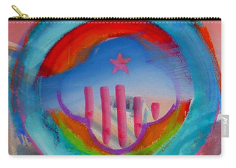 Logo Carry-all Pouch featuring the painting Ship Of State by Charles Stuart
