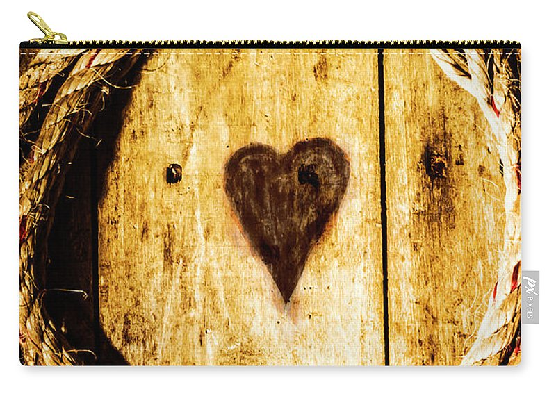 Maritime Carry-all Pouch featuring the photograph Ship Shape Heart by Jorgo Photography - Wall Art Gallery