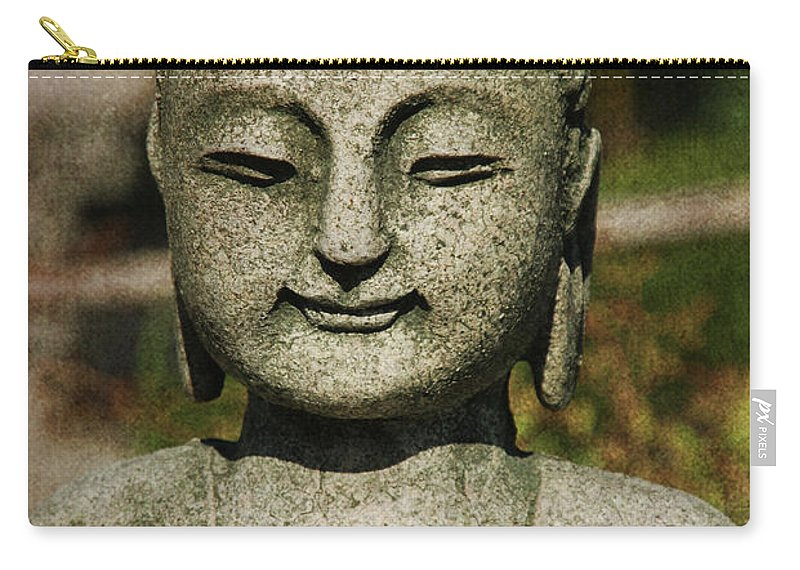 Shiva Carry-all Pouch featuring the photograph Shiva by Susanne Van Hulst