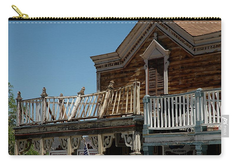 Usa Carry-all Pouch featuring the photograph Shooting Gallery by LeeAnn McLaneGoetz McLaneGoetzStudioLLCcom