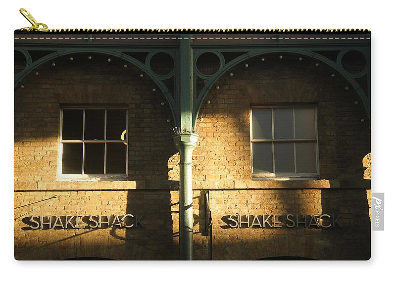 Shops Carry-all Pouch featuring the photograph Shops At Covent Garden by Sam Garcia