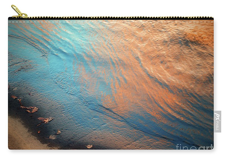 Water Carry-all Pouch featuring the photograph Shoreline by Tara Turner