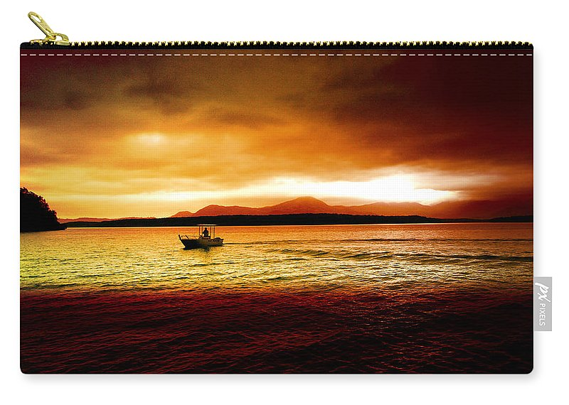 Landscape Carry-all Pouch featuring the photograph Shores Of The Soul by Holly Kempe