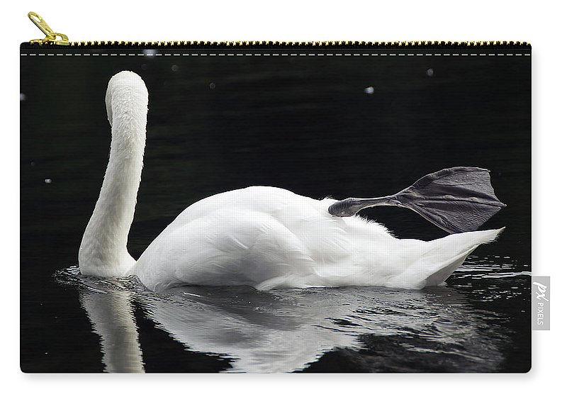 Adult Carry-all Pouch featuring the photograph Showing Off by Svetlana Sewell
