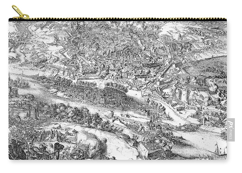 1683 Carry-all Pouch featuring the photograph Siege Of Vienna, 1683 by Granger