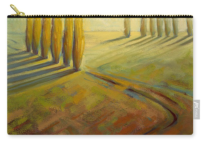 Landscape Carry-all Pouch featuring the painting Sienna by Konnie Kim