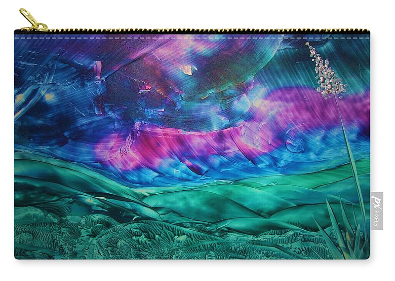 Desert Carry-all Pouch featuring the print Sierra Vista by Melinda Etzold