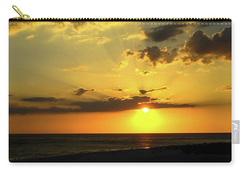 Sunset Carry-all Pouch featuring the photograph Siesta Sundown by Bradley Dever