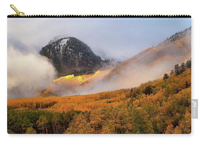 Colorado Carry-all Pouch featuring the photograph Siever's Mountain by Steve Stuller