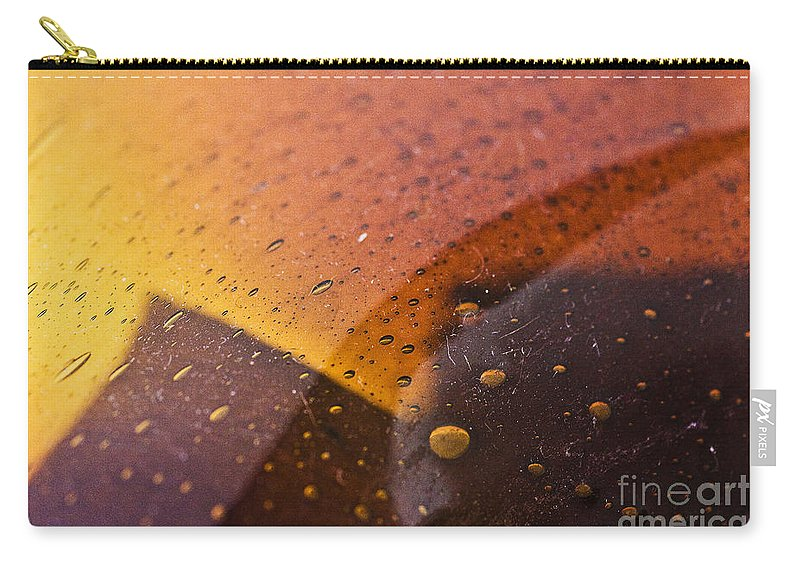 Abstract Carry-all Pouch featuring the photograph Signs-3 by Casper Cammeraat
