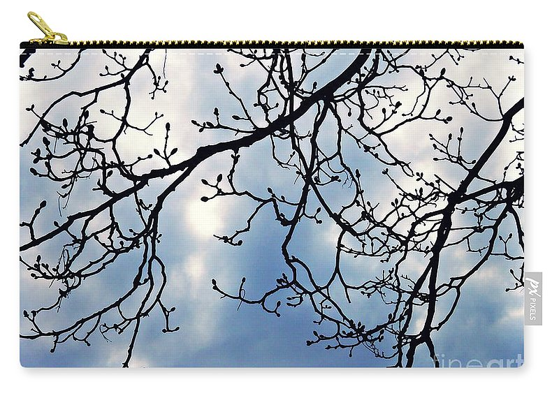 Tree Carry-all Pouch featuring the photograph Signs Of Spring by Sarah Loft