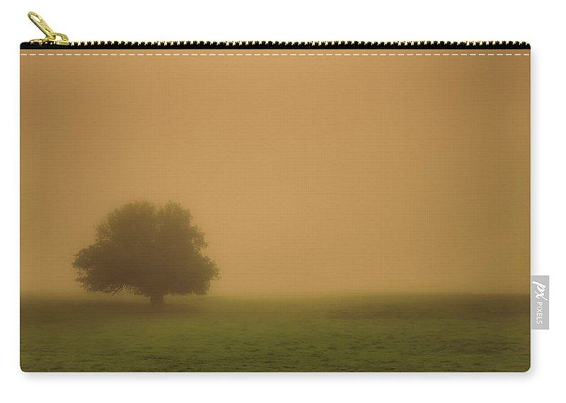 Autumn Carry-all Pouch featuring the photograph Silent And Still by Don Schwartz