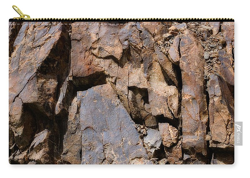 Abstract Carry-all Pouch featuring the photograph Silent Rocks by Konstantin Dikovsky