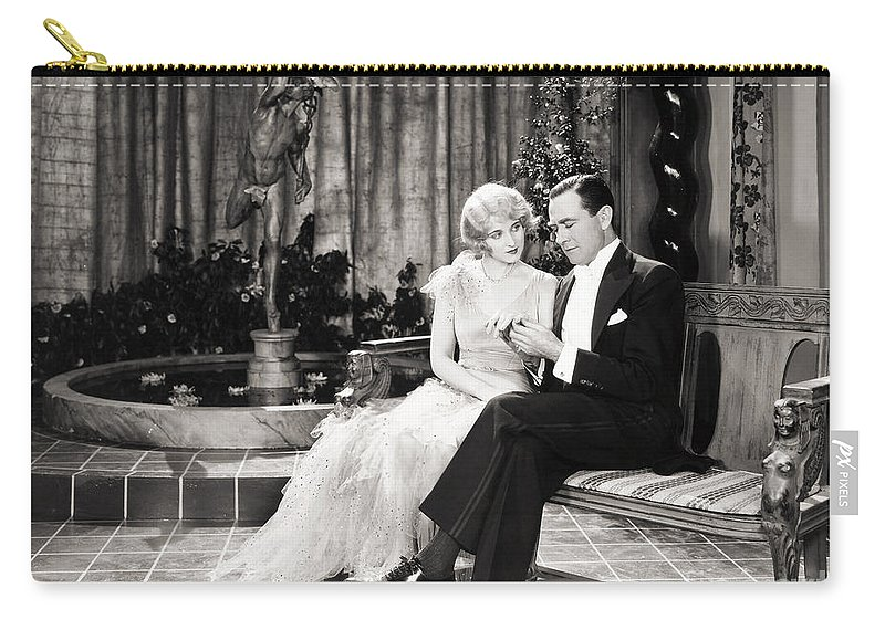 -couples- Carry-all Pouch featuring the photograph Silent Still: Couples by Granger