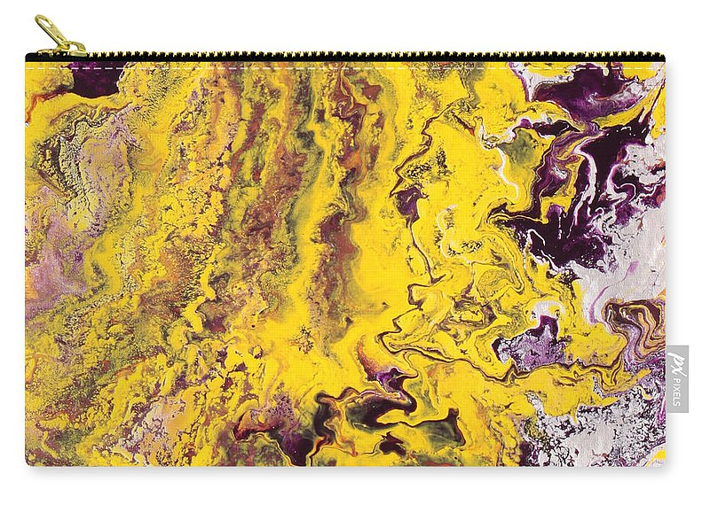 Fusionart Carry-all Pouch featuring the painting Silhouette by Ralph White