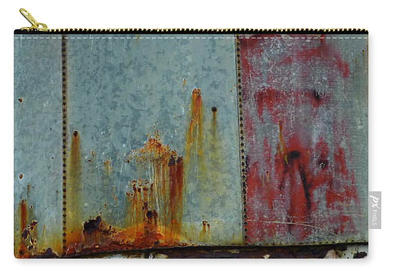 Skip Hunt Carry-all Pouch featuring the photograph Silo Series 1 by Skip Hunt