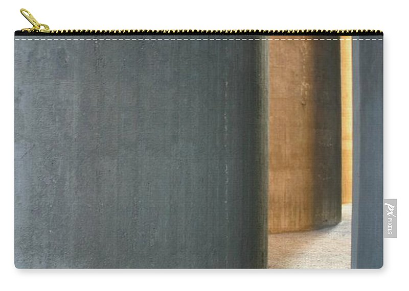 Silver Carry-all Pouch featuring the photograph Silver And Gold In Belgium by Minaz Jantz