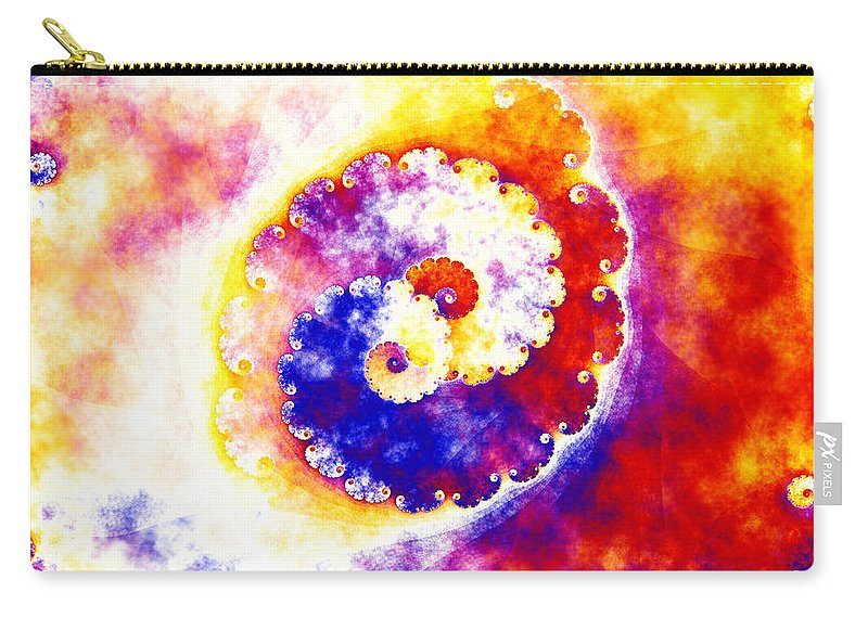 Art Carry-all Pouch featuring the digital art Simplicity by Candice Danielle Hughes