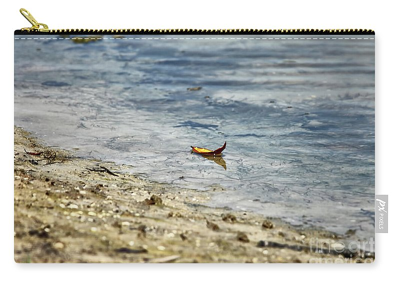 Leaf Carry-all Pouch featuring the photograph Simplicity by Deborah Benoit