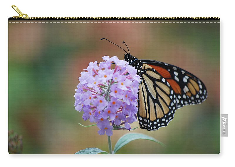 Monarch Carry-all Pouch featuring the photograph Simply Pretty by Lori Tambakis