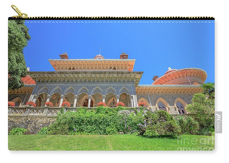 Sintra Carry-all Pouch featuring the photograph Sintra In Portugal by Benny Marty