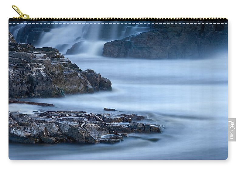 South Carry-all Pouch featuring the photograph Sioux Falls Park South Dakota by Steve Gadomski