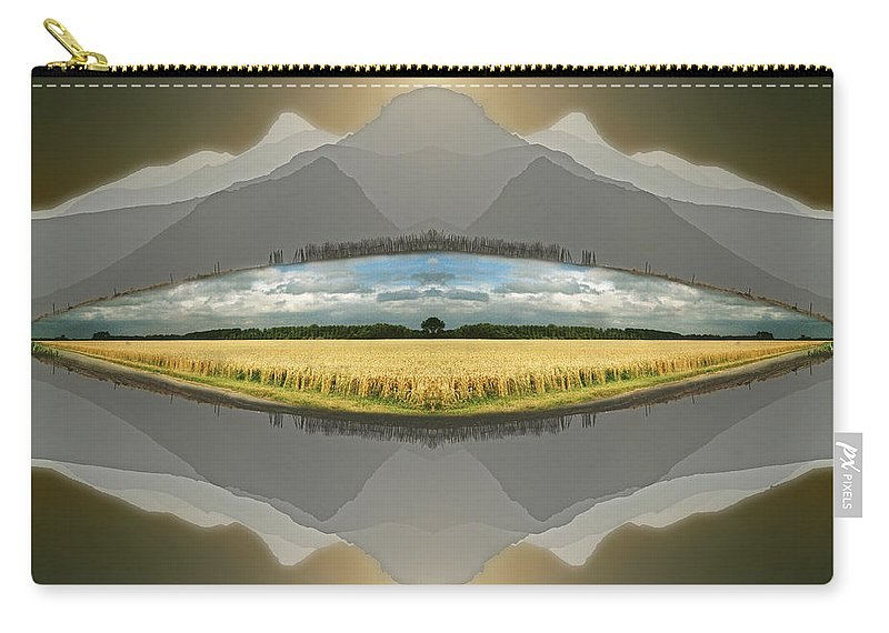 Landscape Carry-all Pouch featuring the photograph Sitting Silently by Casper Cammeraat