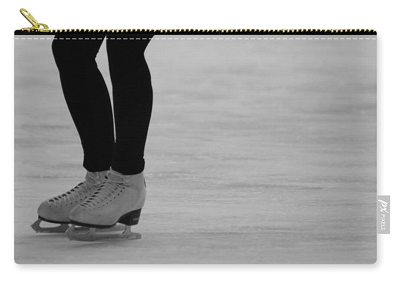 Skating Carry-all Pouch featuring the photograph Skating II by Lauri Novak